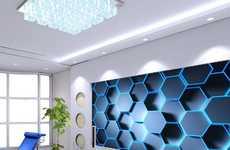 Hexagonal 3D Decals