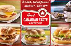 Canadiana-Inspired Menus