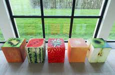 Photo-Finished Cube Furniture