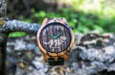 All-Natural Wood Watches