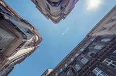 Corridor-Focused Building Photography