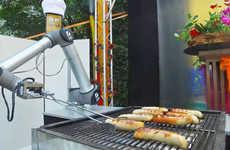 Sausage-Grilling Robots