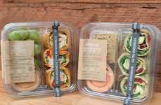 Internationally-Inspired Snack Wraps
