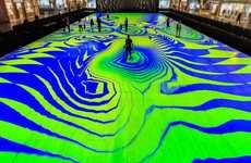 Kaleidescopic VR Flooring