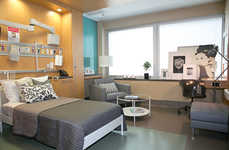 Branded Hospital Rooms