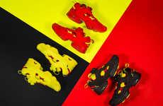Revitalized Neon Sneakers