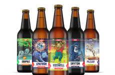 Sci-Fi Beer Branding