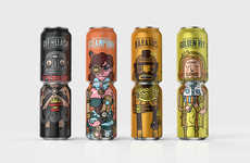 Stackable Character Cans