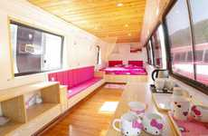 Converted Bus Hotels