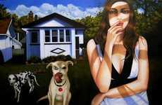 Modern Life Oil Paintings