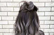 Youthful Gradient Grey Hairstyles