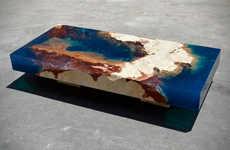 Aquatic Coral Tables