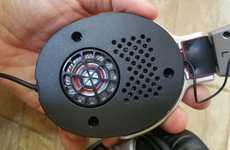 Lightweight Electrostatic Headphones