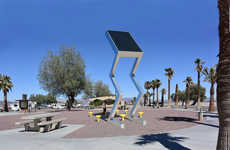 Eco-Friendly Solar Sculptures