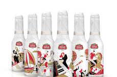 Illustrated Beer Bottles