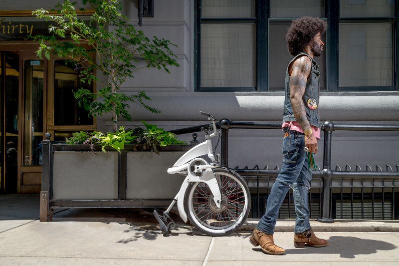 Folding E-Bicycle Designs