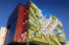 Abstract Multidimensional Murals
