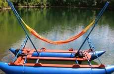 Solar-Powered Hammock Boats