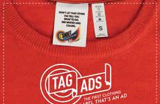 Clothing Tag Advertisements