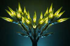 Arboreal Lighting Sculptures