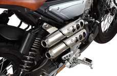 Resurrected Scrambler Motorbikes