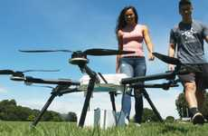 High-Range Delivery Drones