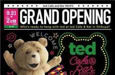 Cinematic Teddy Bear Cafes