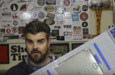 Customized LEGO Skateboards