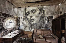Crumbling Beauty Murals