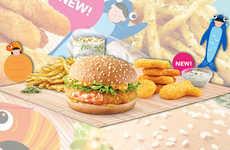 Fishy Fast Food Menus