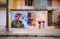 Architectural Mural Photography