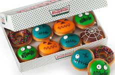 Ghoulish Halloween Donuts