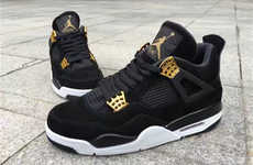 Regally Decorated Sneakers