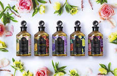 Floral Spa Product Packaging