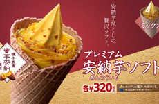 Potato-Inspired Ice Cream Cones
