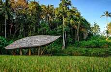 Turtle Shell Yoga Pavilions