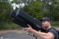 Drone-Disabling Artillery