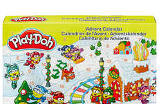 Modeling Clay Advent Calendars