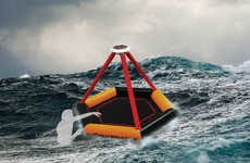 Self-Inflating Safety Rafts