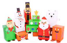 Holiday Character Gift Wrapping