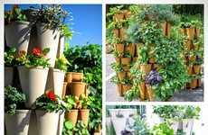 Vertical Garden Stacking Systems