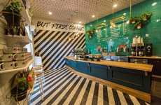 Fashion-Forward Coffee Shop