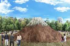 Mountainous Landmark Projections