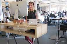 Health-Focused IOT Desks