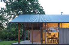 Transparent Tin-Roofed Houses