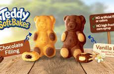 Chewy Teddy Bear Cookies