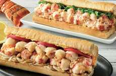 Toasted Seafood Sandwiches
