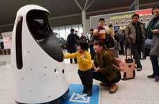 Chinese Police Robots