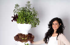 Vertical Produce Pod Gardens