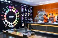 High-Tech Concept Cafes